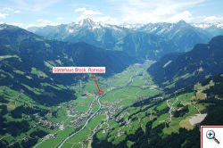 Luftaufnahme Ferienregion Mayrhofen