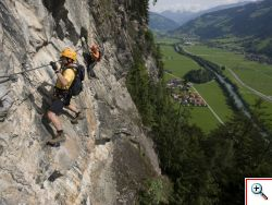 Klettersteig Zimmereben
